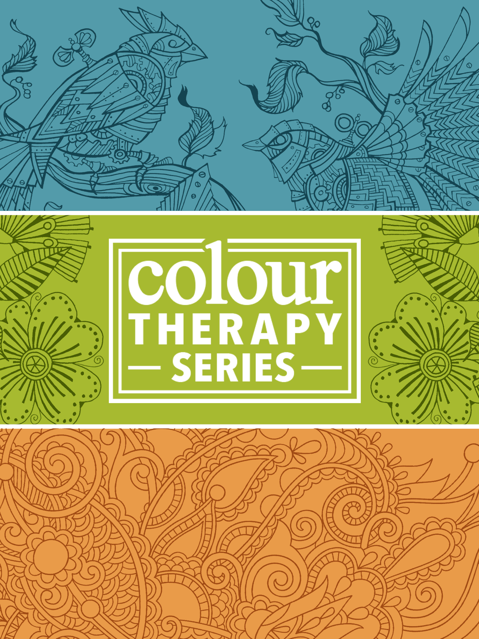 iTunes app for the Art Therapy adult colouring book series