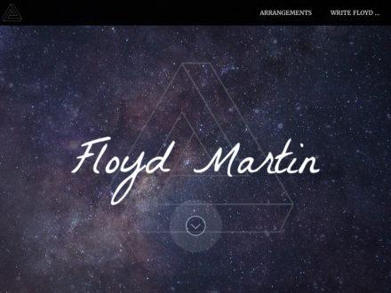 Music portfolio website